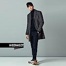 H:CONNECT 韓國品牌 男裝-特色標語針織上衣-黑