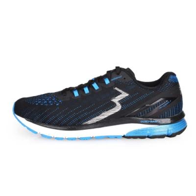 361度 361° 男慢跑鞋-2E-訓練 路跑 黑藍白