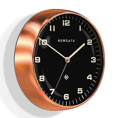 Newgate 英倫風格時鐘-摩登風格-紅銅-40cm