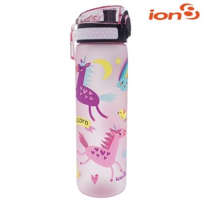 【ION8】Slim運動休閒水壺I8500 / Unicorns獨角獸紫