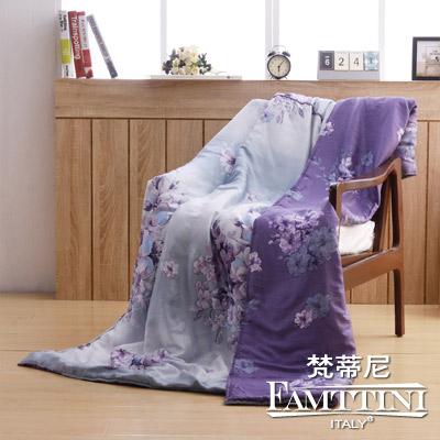 梵蒂尼Famttini 頂級純正天絲萊賽爾涼被-田園花語(5x6.5尺)