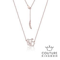 Disney Jewellery by Couture Kingdom 小飛象鍍玫瑰金項鍊