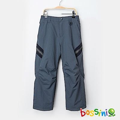 bossini男童-高效熱能雪褲鐵灰