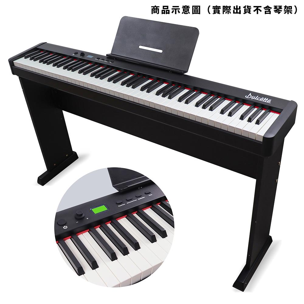 美國【Dulcette】職人重鎚88鍵電鋼琴原音 DH-8 #1美國亞馬遜暢銷品牌Dulcette  電子鋼琴 數位鋼琴