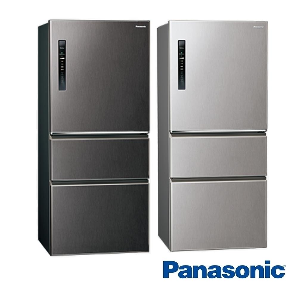 [館長推薦] Panasonic 國際牌 610公升 三門變頻冰箱 NR-C611XV-V 絲紋黑