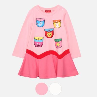 WHY AND 1/2 mini 低腰棉質萊卡洋裝 多色可選 1Y~4Y