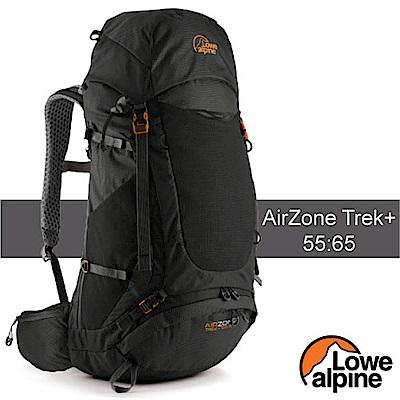 英國 LOWE ALPINE AirZone Trek +55:65 輕量透氣登山背包_黑
