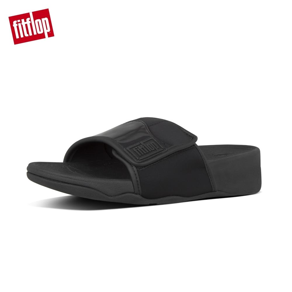 FitFlop SPORTYSTEP GLITTER MIX SLIDES 靚黑色