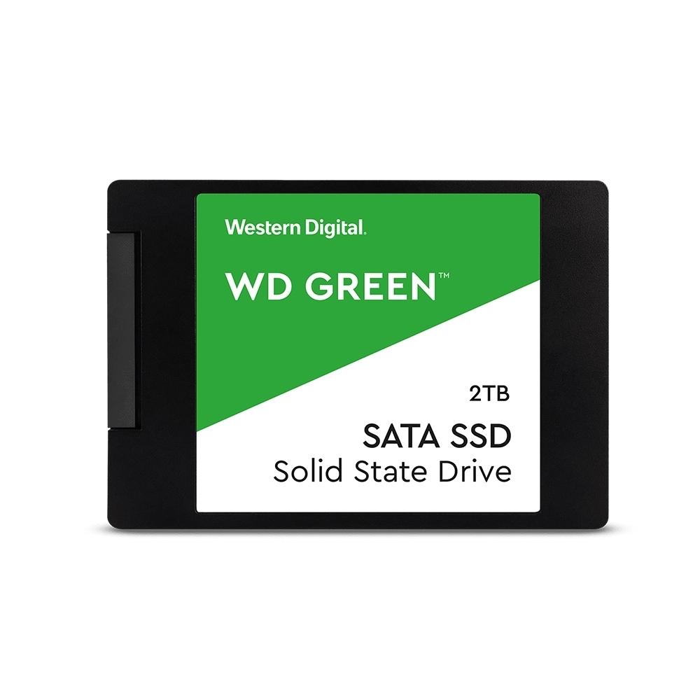 WD 綠標 2TB 2.5吋SSD固態硬碟 (WDS200T2G0A)