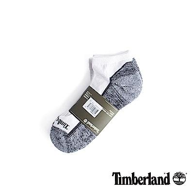 Timberland 男款白灰透氣吸汗舒適隱形襪