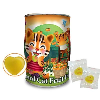 強森先生:石虎水果QQ糖(甜心橙橘、100g)(採果趣)