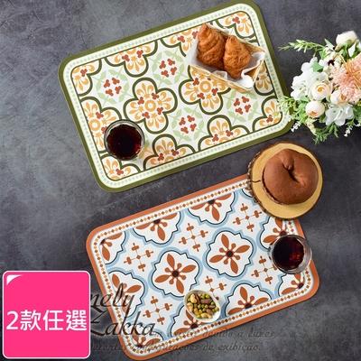 Homely Zakka 美式輕奢復古皮革餐墊/防燙隔熱墊/桌墊(2款任選)