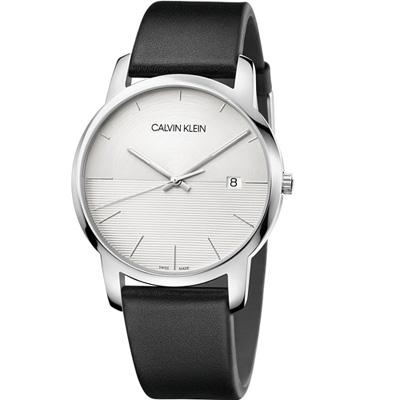 CALVIN KLEIN City都會系列時尚腕錶(K2G2G1CD)43mm