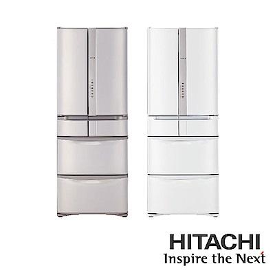 [無卡分期-12期]HITACHI日立 481L 6門電冰箱 RSF48HJ