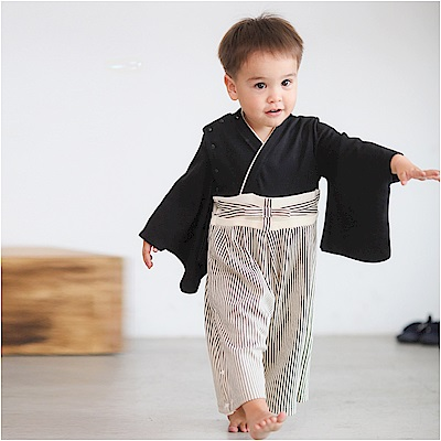 baby童衣 和服連身衣 假兩件日式經典造型男寶寶 37303