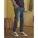 CACO-針織牛仔束腳褲(二色)-情侶款-男【A1AR018】 product thumbnail 1