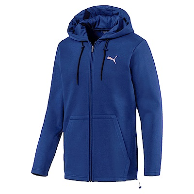 PUMA-男性訓練系列VENT連帽外套-寶石藍-亞規