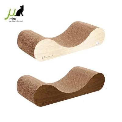 日本Gari Gari Wall(MJU)新式沙發貓抓板《白橡色+淺咖/深咖》(不挑色隨機出貨) (購買第二件贈送寵鮮食零食1包)
