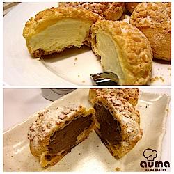(滿699)奧瑪烘焙 岩石泡芙(8入/盒) 原味/巧克力