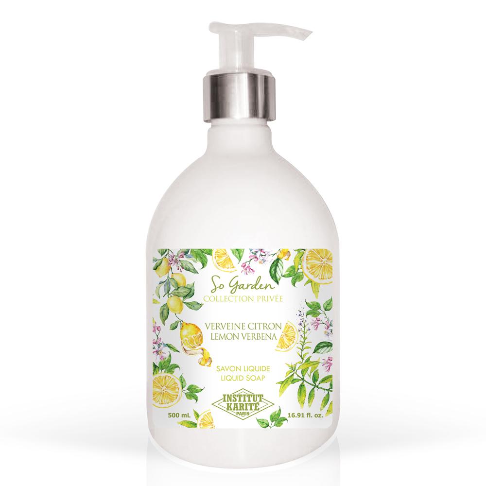 Institut Karite Paris 巴黎乳油木 檸檬馬鞭草花園香氛液體皂500ml