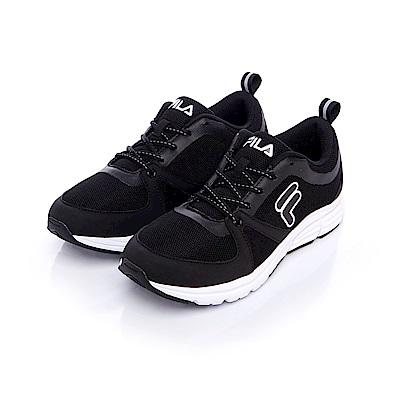FILA 男款健走鞋-黑 1-F702S-001
