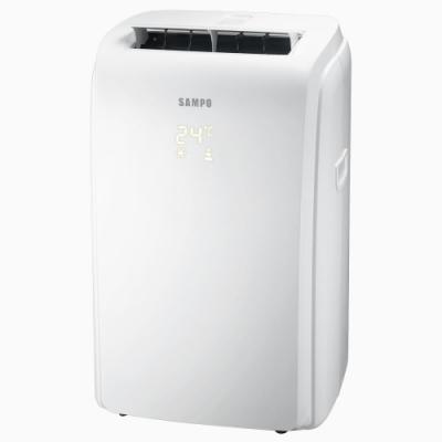 福利品 SAMPO聲寶 <b>3</b>-<b>5</b>坪 定頻冷專移動式冷氣 AH-PC128