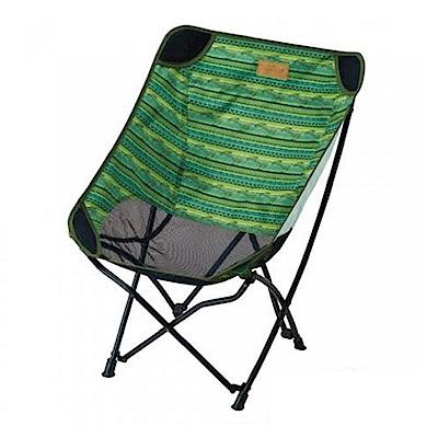 KOVEA 史迪爾 透氣網花樣折椅 綠