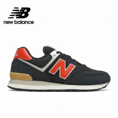 [New Balance]復古運動鞋_中性_黑紅_ML574ML2-D楦