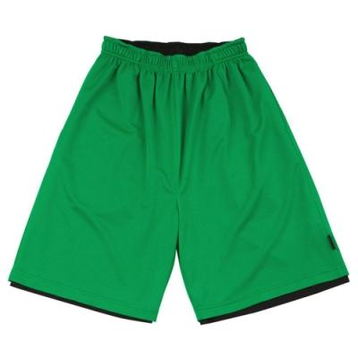 【FIVE UP】男款雙面穿吸排籃球褲-中綠