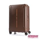 AT美國旅行者 28吋Technum防刮飛機輪可擴充TSA海關鎖行李箱(栗紅)