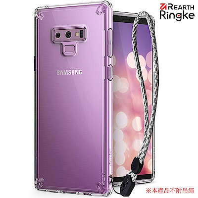 Ringke 三星 Galaxy Note 9 [Fusion] 透明背蓋手機保...