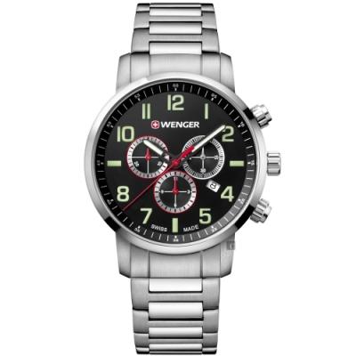 WENGER 威格 Attitude Chrono計時手錶(01.1543.102)-44mm