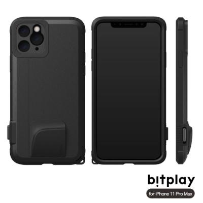 bitplay SNAP! iPhone 11 Pro Max (6.5吋)專用 喀擦一鍵即拍相機快門鍵全包覆軍規防摔相機殼-黑