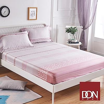 DON貝洛妮 加大親膚極潤天絲床包枕套三件組