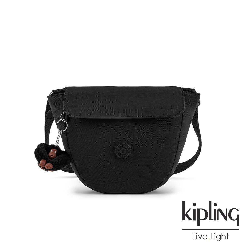 Kipling 質感黑手提側背包-GARDEN
