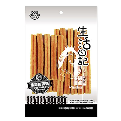MDOBI摩多比-生活日記 狗零食 地瓜夾心雞肉條90g-3包組