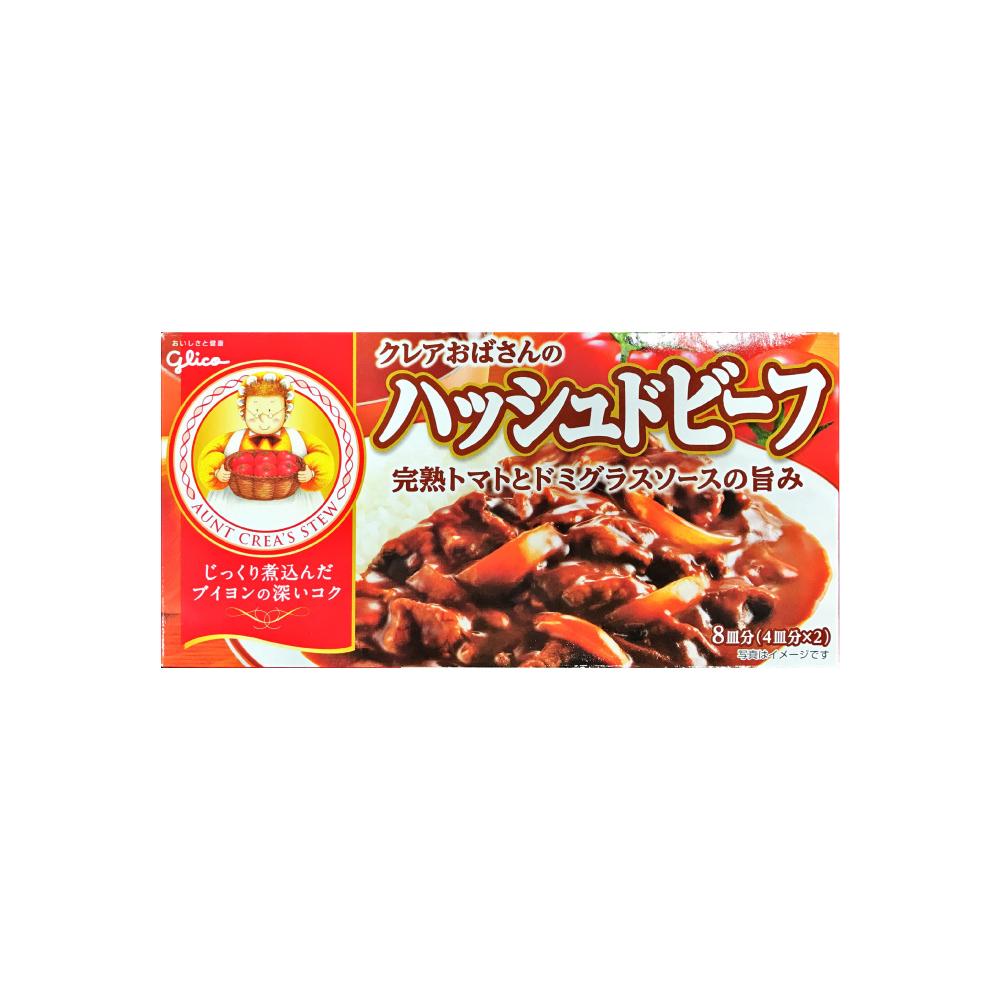 Glico格力高 料理奶奶牛肉燴飯專用料理塊(144g)