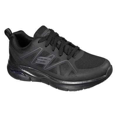 SKECHERS 男工作鞋系列 ARCH FIT SR-AXTELL 寬楦款 - 200025WBLK