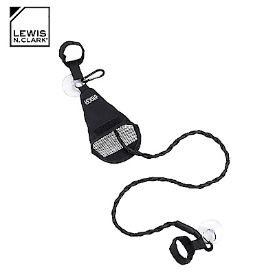 Lewis N. Clark 旅行吸盤晾衣繩 754 / 黑色