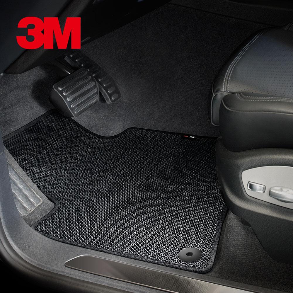 3M安美車墊 Toyota RAV4 (13~19/02)四代 適用/專用車款 (黑色/三片式)