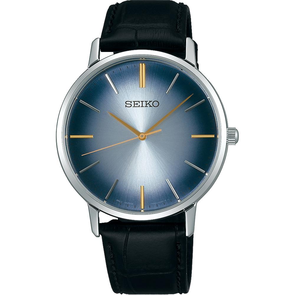 SEIKO精工 SPIRIT 卓越品味石英腕錶(SCXP125J)-漸層藍/38mm