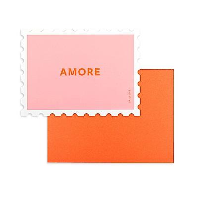 Dailylike 郵票造型卡片信封組-01 愛