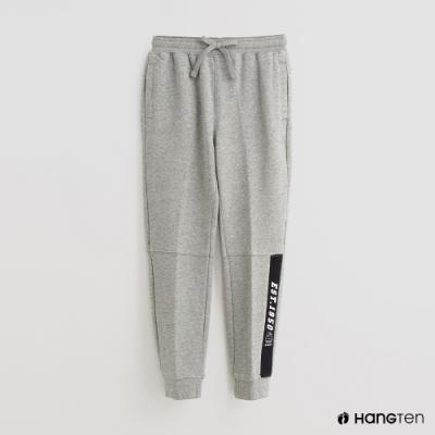 Hang Ten - 童裝 - 腰部縮緊綁帶縮口休閒長褲 - 灰