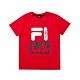 FILA KIDS 童短袖圓領上衣-紅色 1TEV-4901-RD product thumbnail 1
