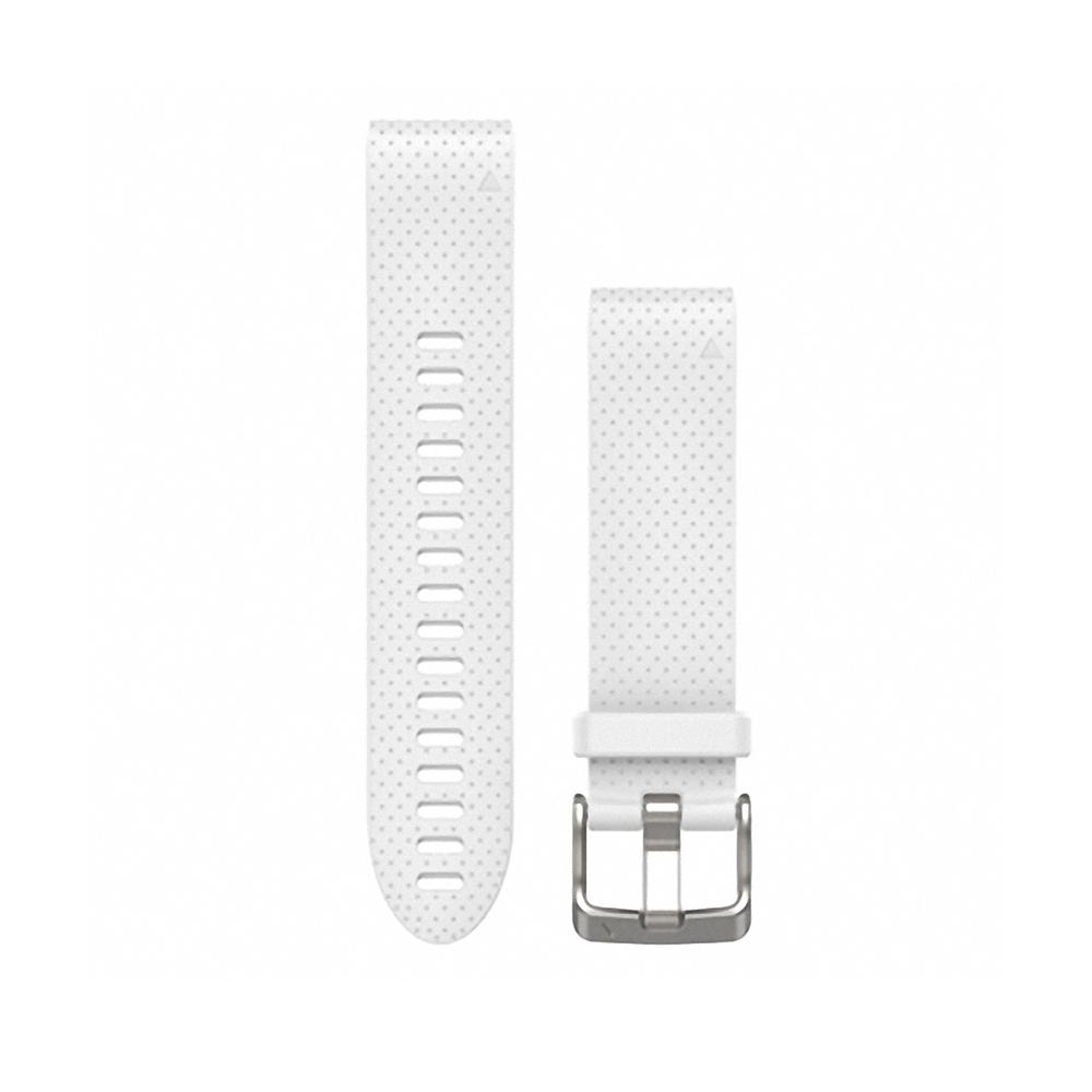 GARMIN QUICKFIT 20mm 純白色矽膠錶帶