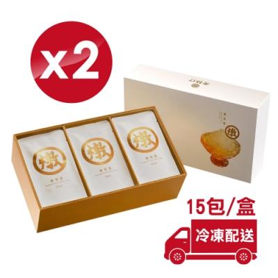 (冷凍配送) 老協珍冷凍 燉燕窩 42mlX15包X2盒