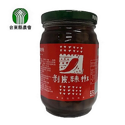 台東縣農會 剝皮辣椒(460g)