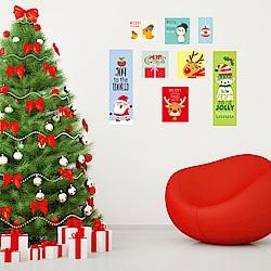 半島良品 DIY無痕壁貼-聖誕照片貼 JJ803 45x60cm