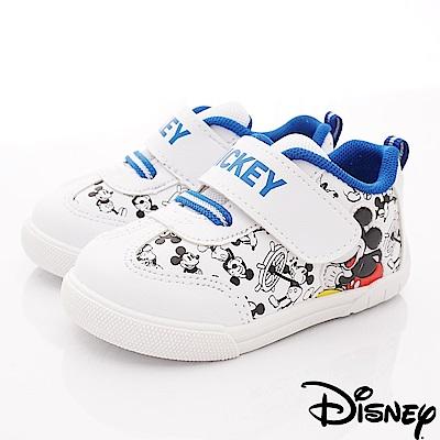 迪士尼童鞋 米奇卡通運動鞋款 ON19309白(中小童段)