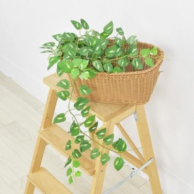 【Meric Garden】仿真白斑黃金葛藤 (6尺) 4入/組